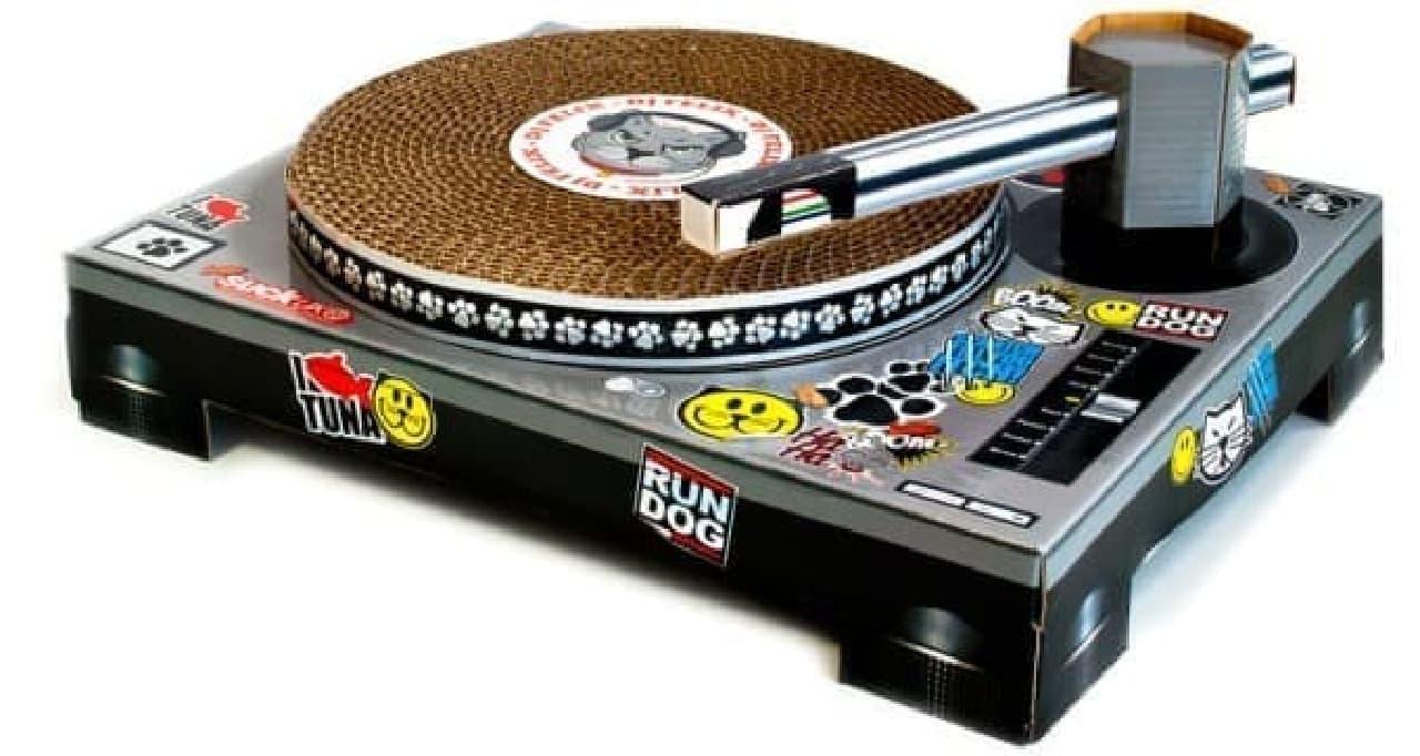 レコードも可動式