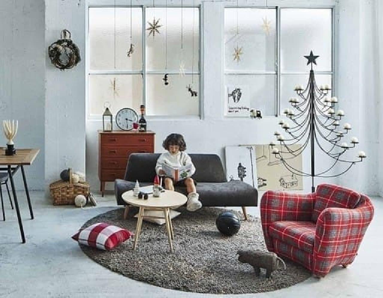 ホリデーシーズンを温かく彩るスペシャル家具が登場