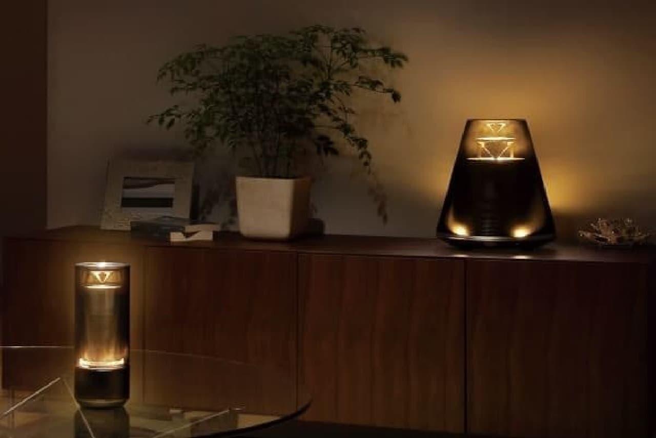 """""""灯り""""と音楽を融合したオーディオシステム「Relit」"""