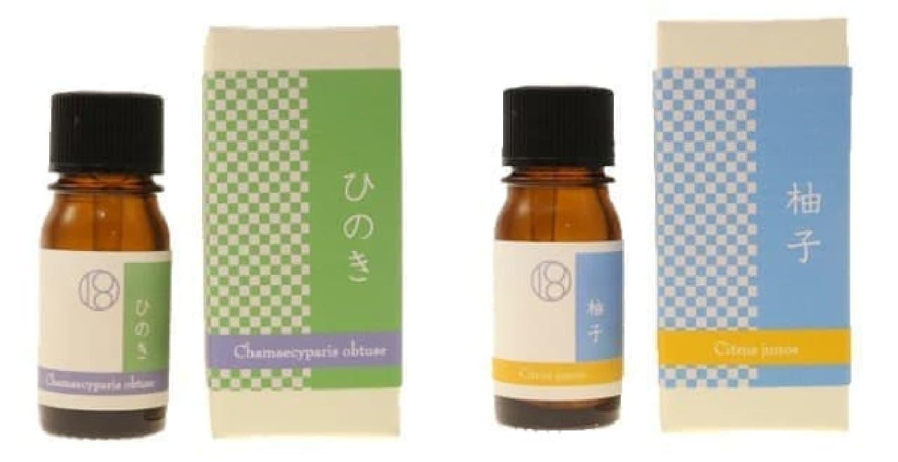 日本独自の香りを楽しむ和精油ブランド
