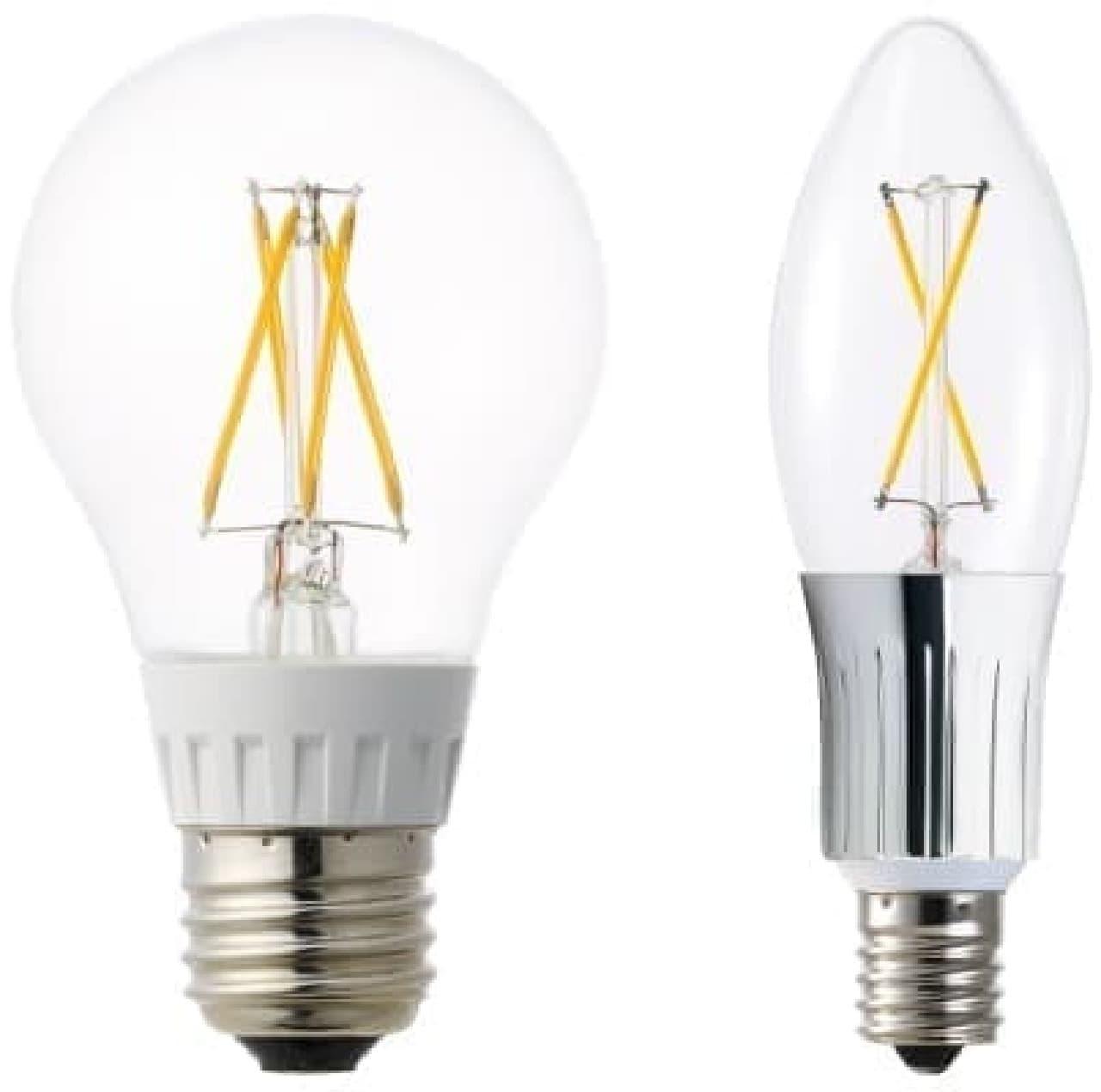 """""""やさしいひかり""""で部屋を包み込む LED 電球"""