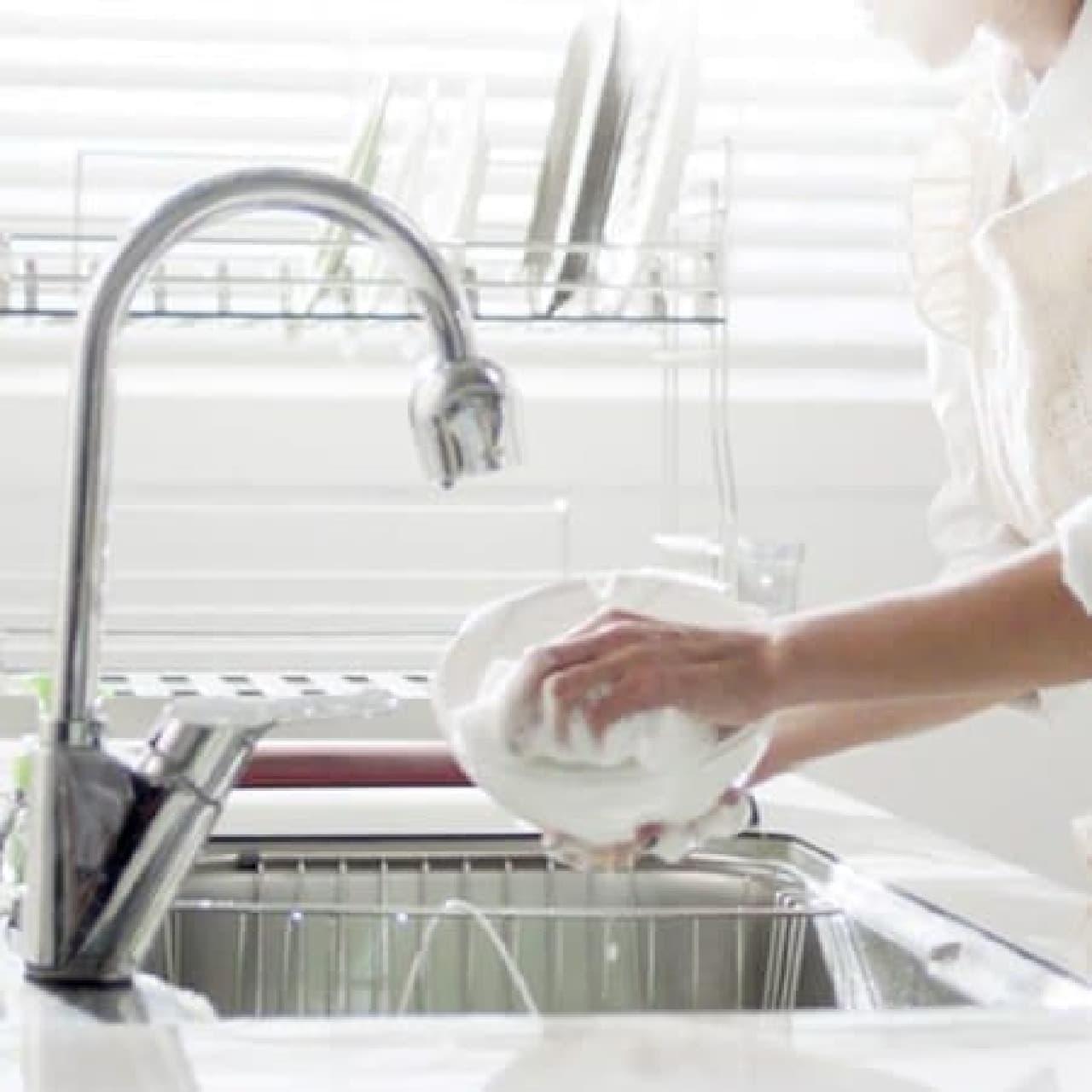 洗いやすさも重視したデザイン