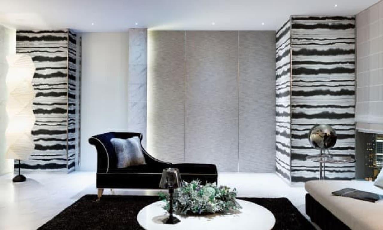 上質な空間を創り上げる壁装材が揃う