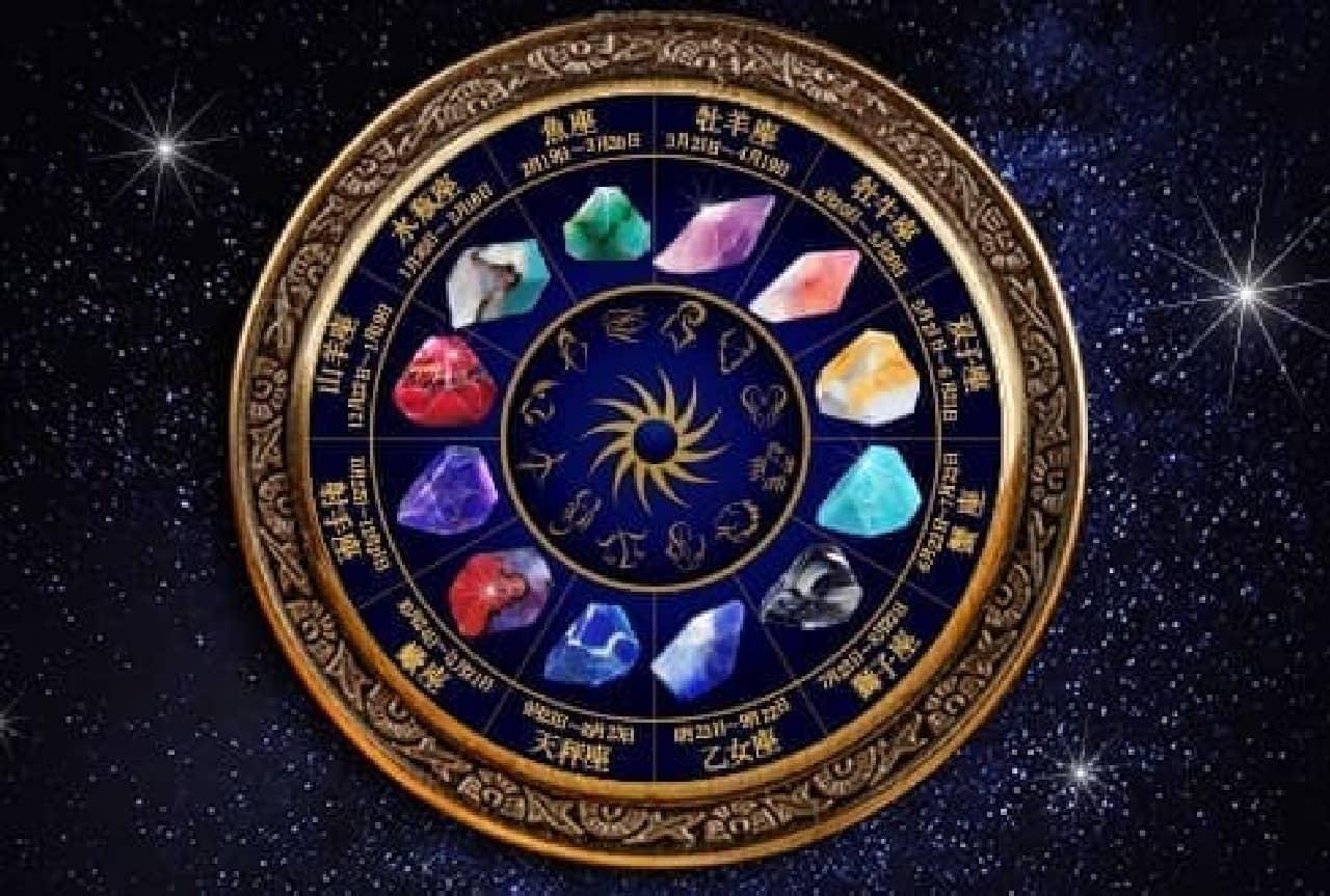 あなたの星座石はどれ?