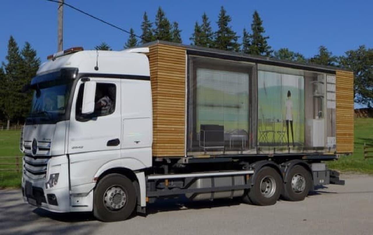 「Simple Home」は、トラックへの積載が簡単