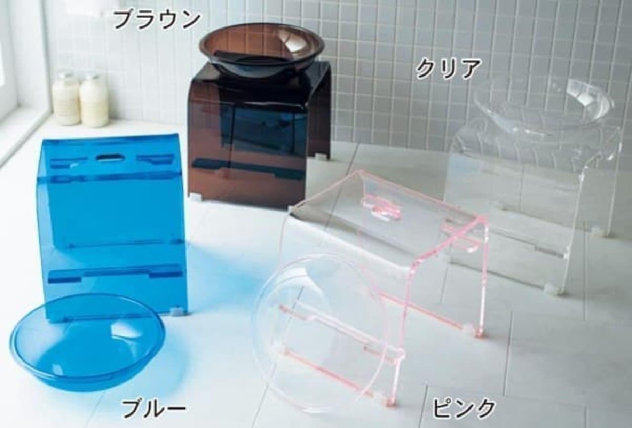 バスルームの雰囲気がワンランクアップする4色