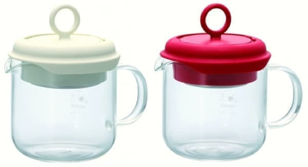 お茶の濃さが分かる耐熱ガラス製