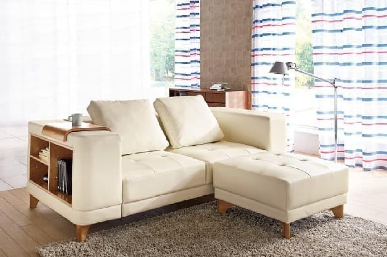 全方向で美しいリビングソファ