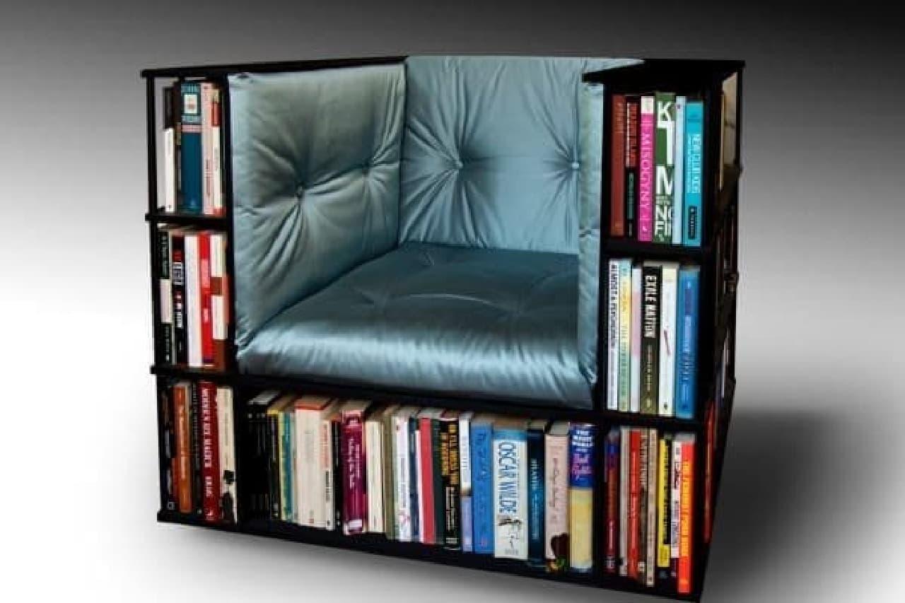 """""""秘密の本棚""""の場所は、秘密です"""