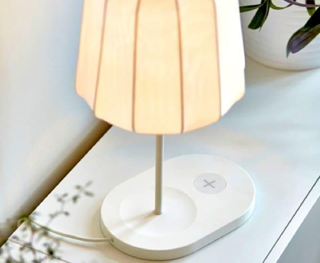 充電ケーブルのないスッキリした部屋に!―ikea の「おくだけ充電」対応インテリア えんウチ