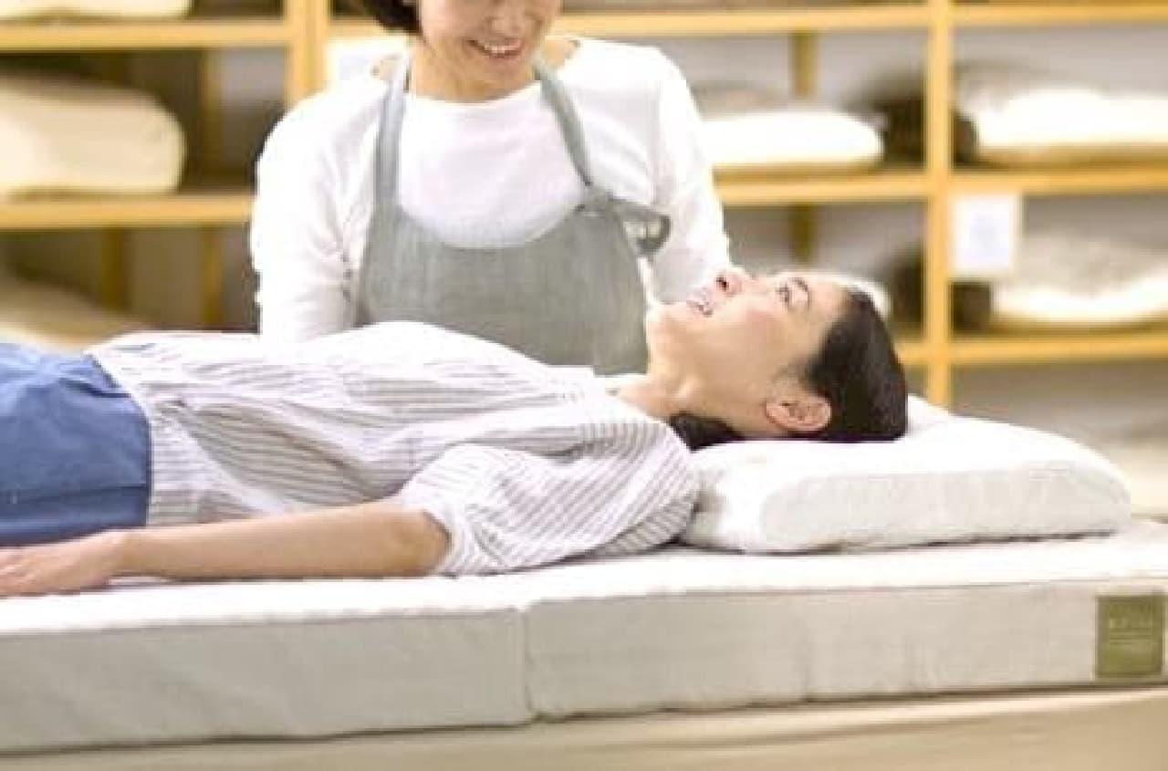 理想の寝具を発見・体感できる貴重なチャンス!