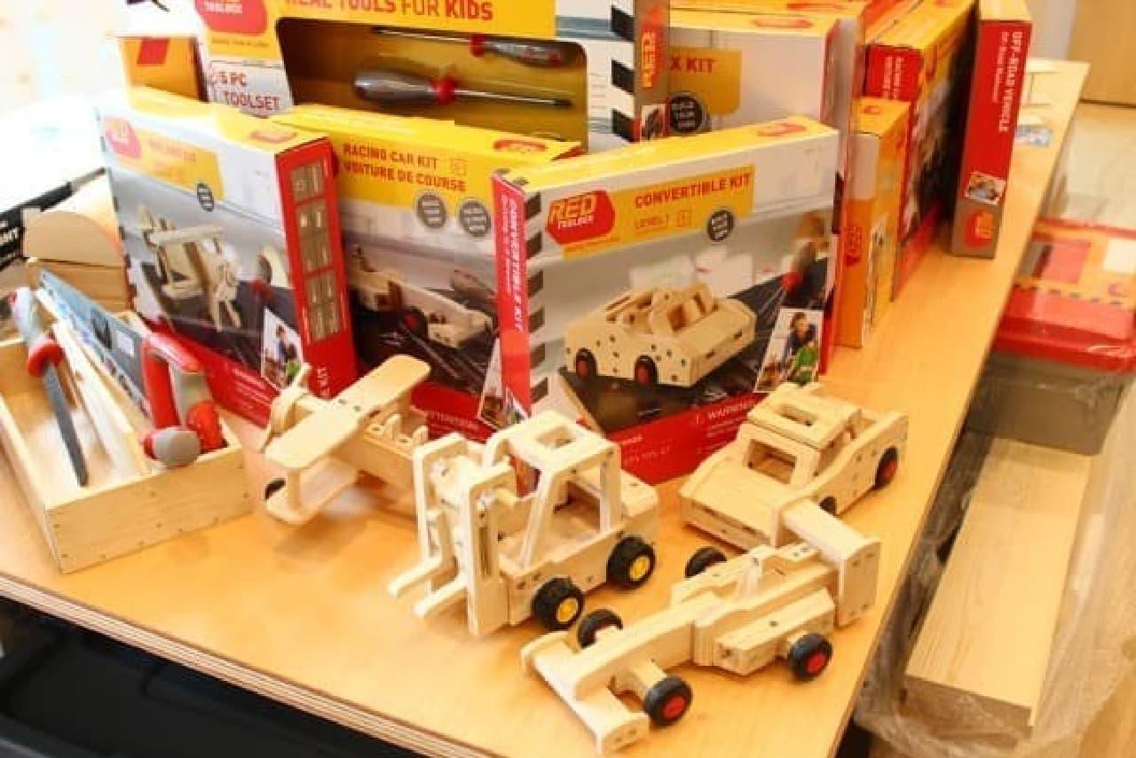子どもと作りたい、木工工作キットシリーズ