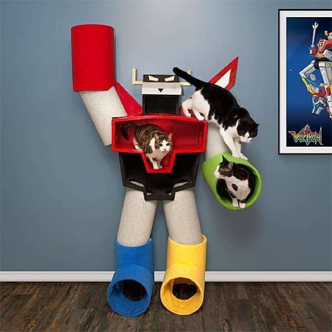 『ボルトロン』のキャットタワー「Voltron Cat Condo」