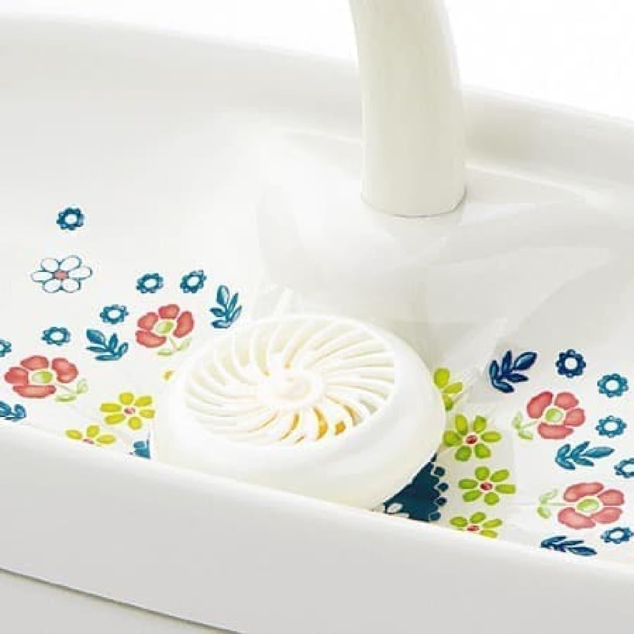 水洗トイレ用洗剤も一緒に使えます