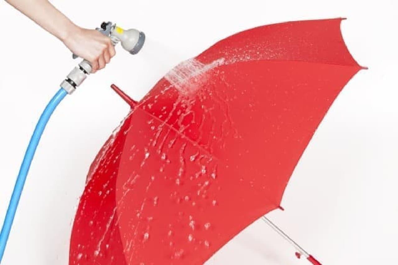 傘だって濡れない方が良い