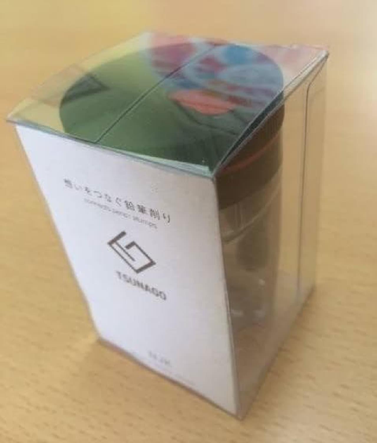 「TSUNAGO」のパッケージ