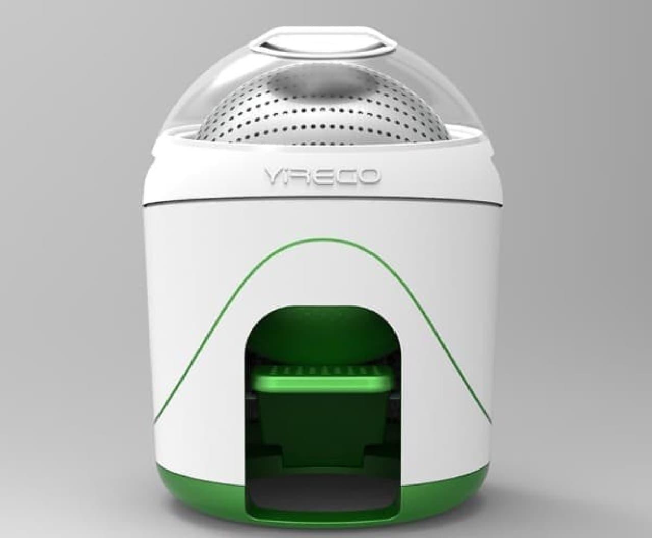 足踏み式洗濯機 Yirego の「Drumi」