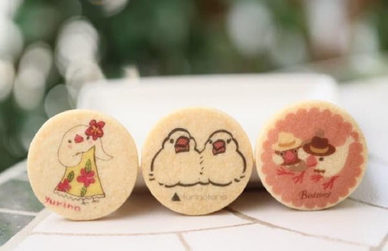 かわい過ぎる「文鳥クッキー」