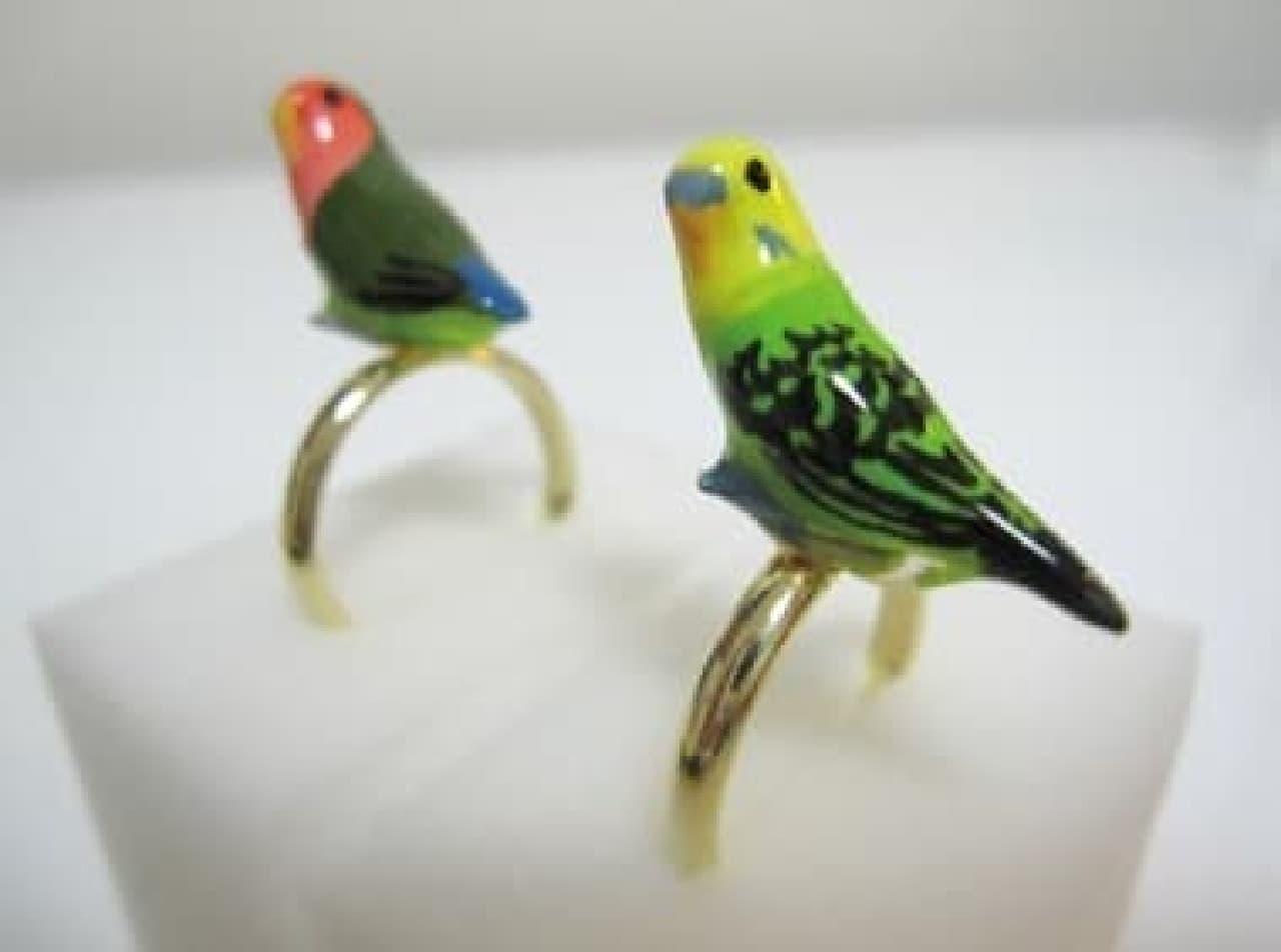 toriko オーダーメイド「小鳥の指輪」