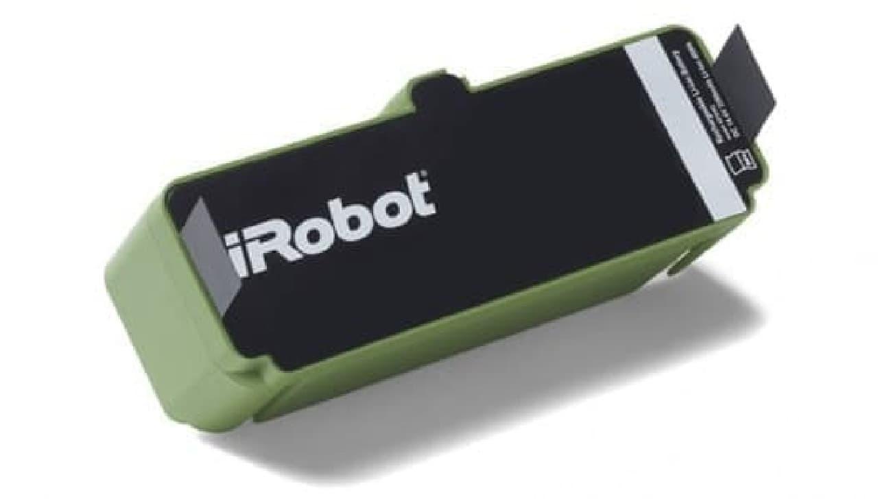 新たに採用された「iRobot Li-ion リチウムイオンバッテリー」