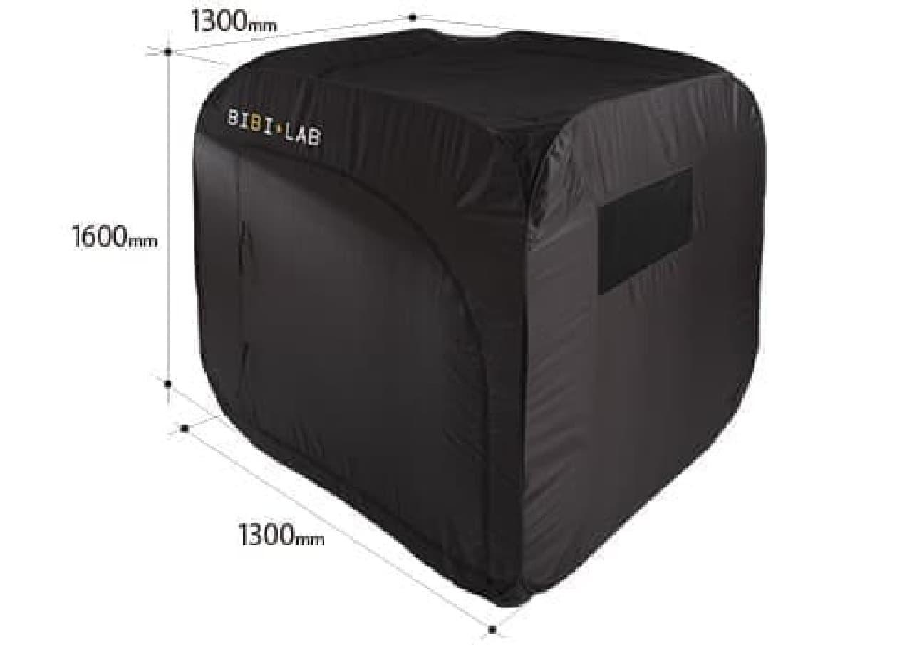 「ノマドスーツケース」と組み合わせれば、屋外でひとりぼっち!?