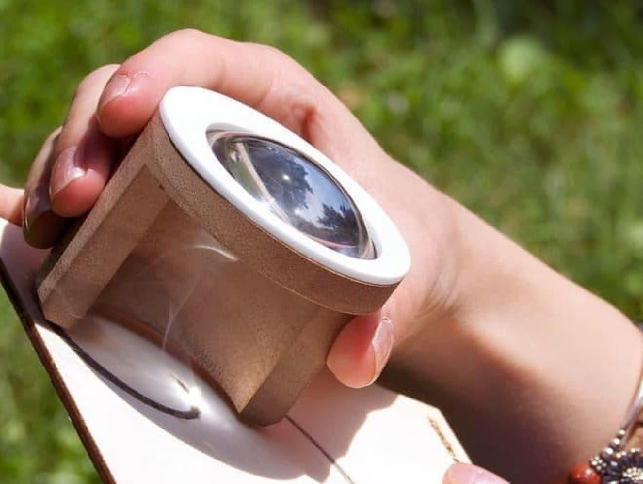 熱彫刻ツール「FEBO」  バッテリーなどは不要  必要なのは太陽の光と人間の本能(?)