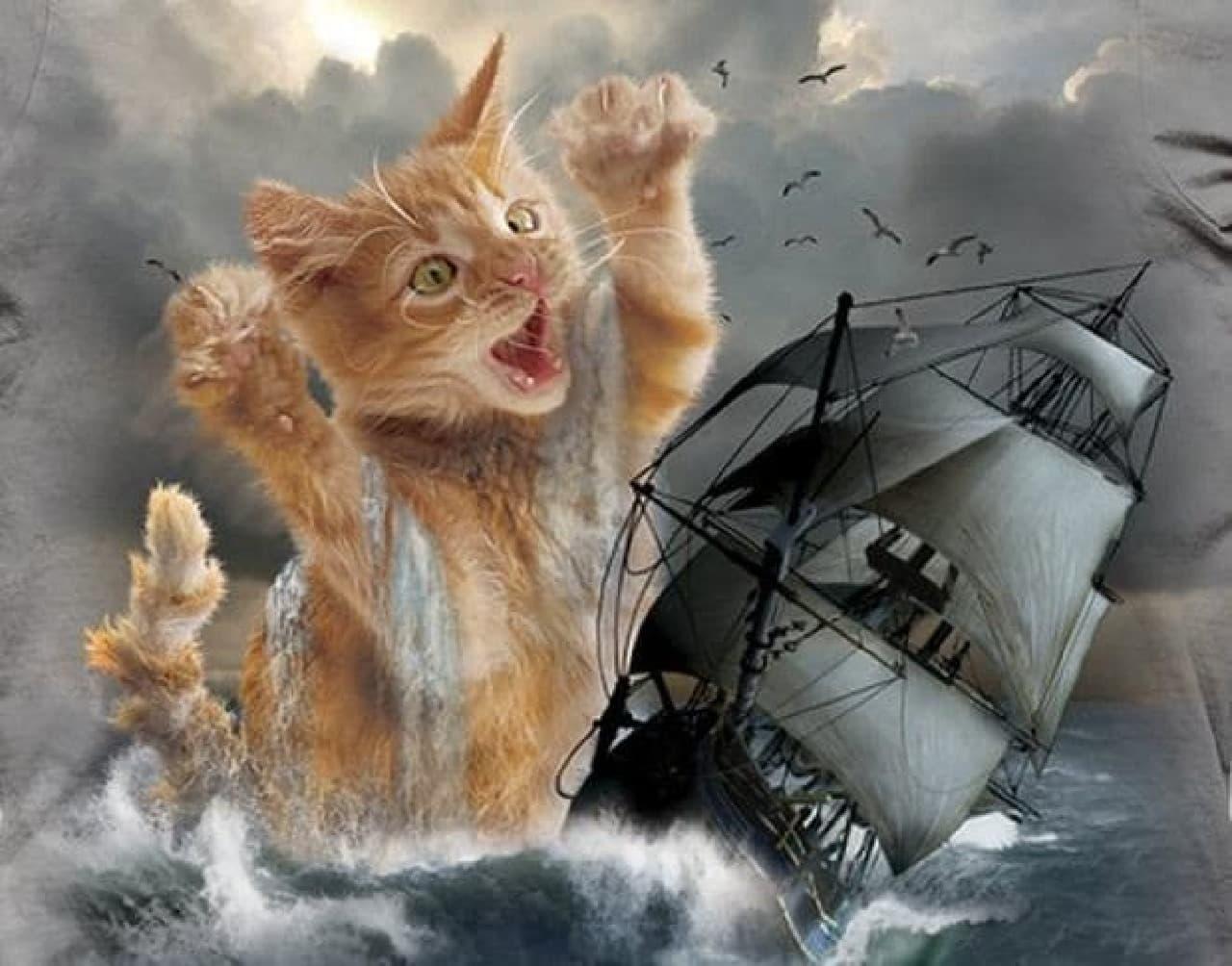 「Kitten Kraken」はクオリティ高め  というか、もはやアート?