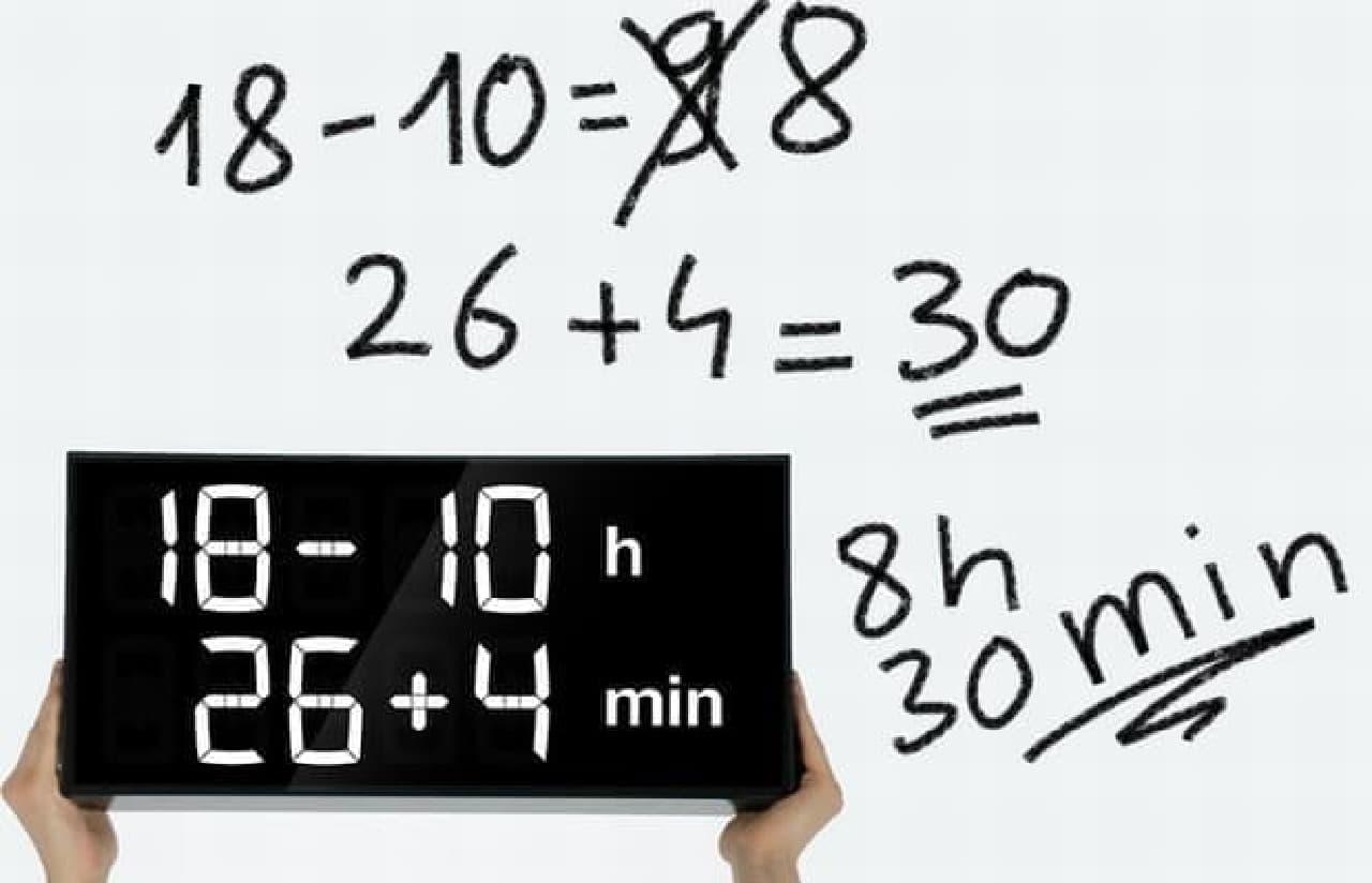 「Albert」で現在時刻をするには、これだけの計算が必要になります  頭が良くなってしまう気がします(気のせい?)