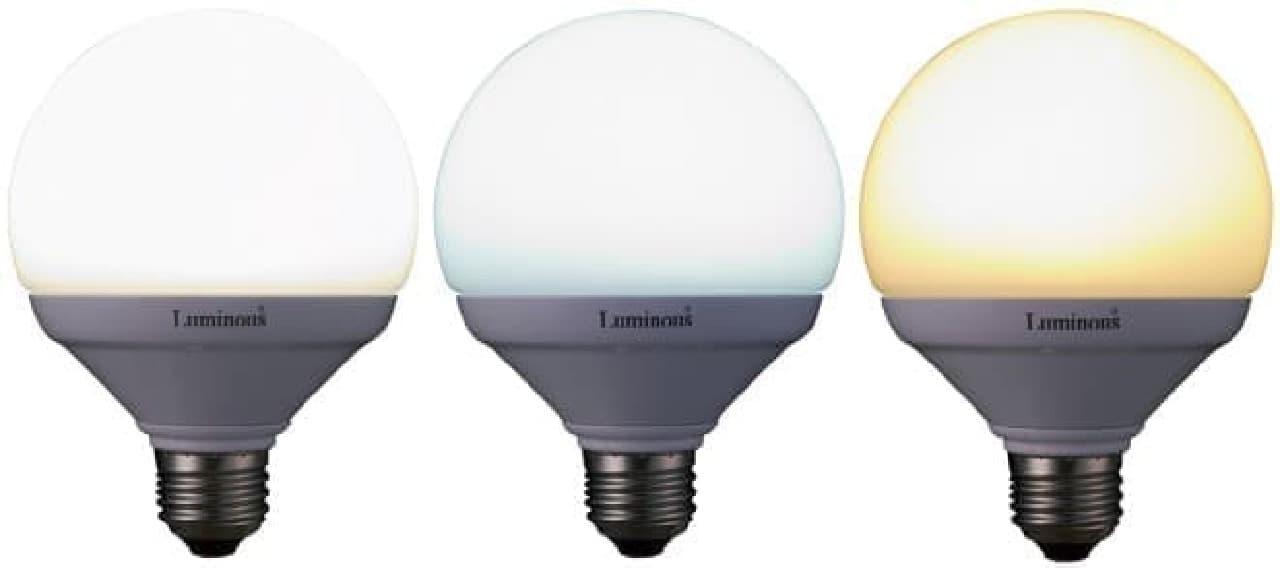 これは便利!1つで3色使えるLED電球