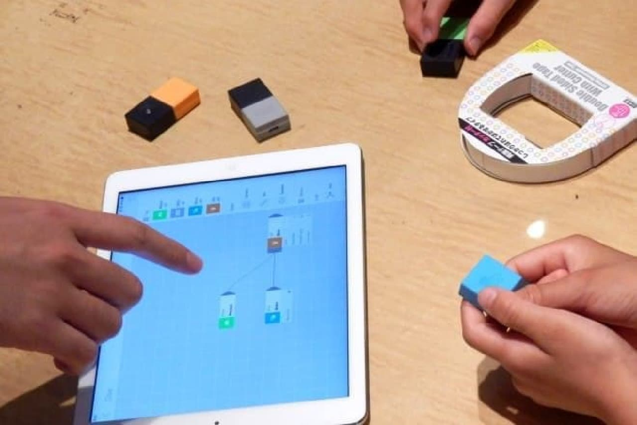 MESH同士はiPad上で簡単に連携可能