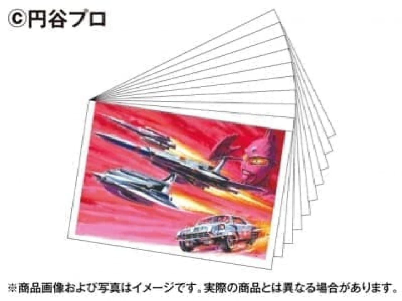 児童誌などに使用された貴重な原画をポストカードに