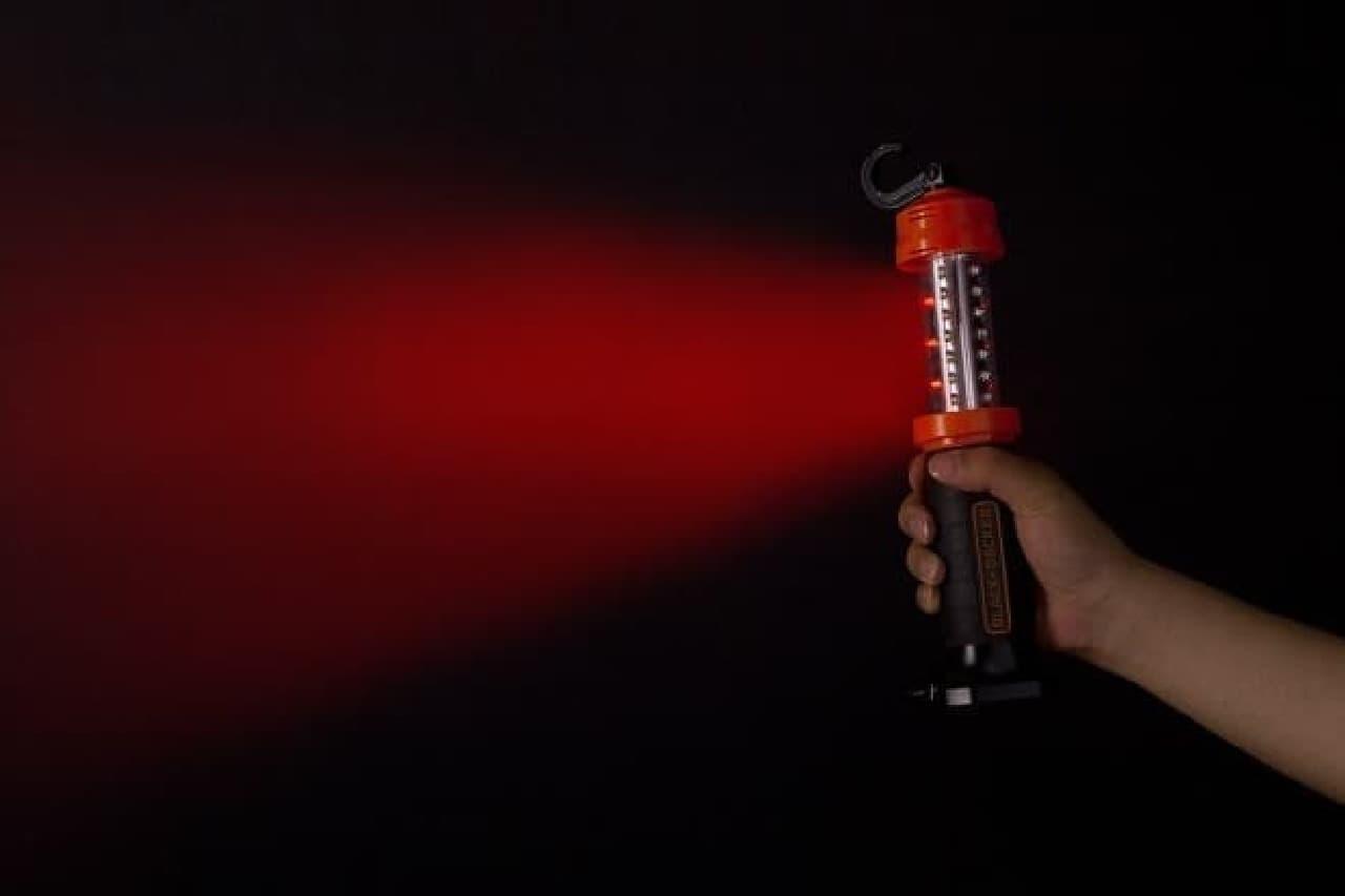 赤色ハザードも点灯可能