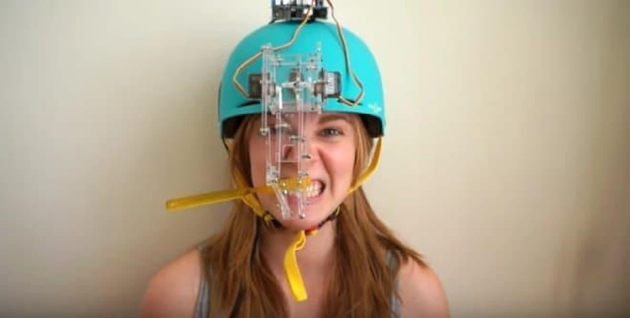 自動ハミガキロボット「Toothbrush machine」