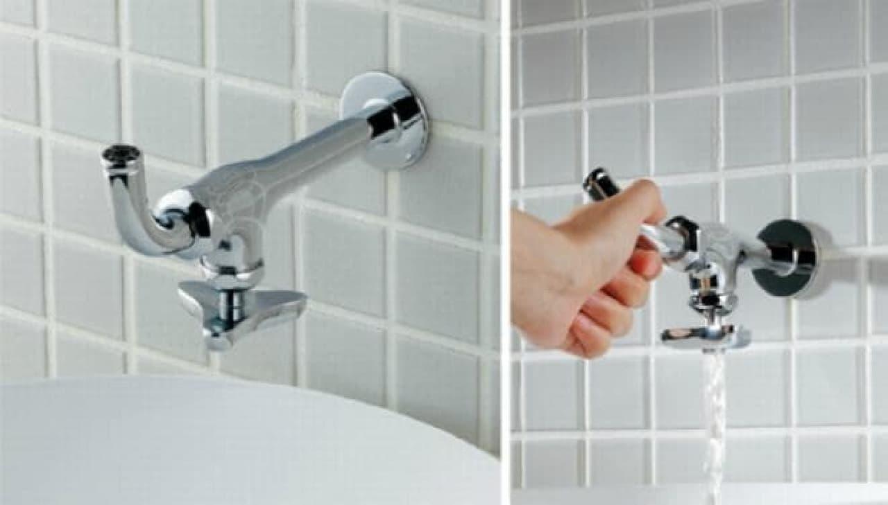 Â�かんのお水、召し上がれ €� Â�クダイのユニークな蛇口「da Reyaアイキャッチ水栓」 Á�んウチ