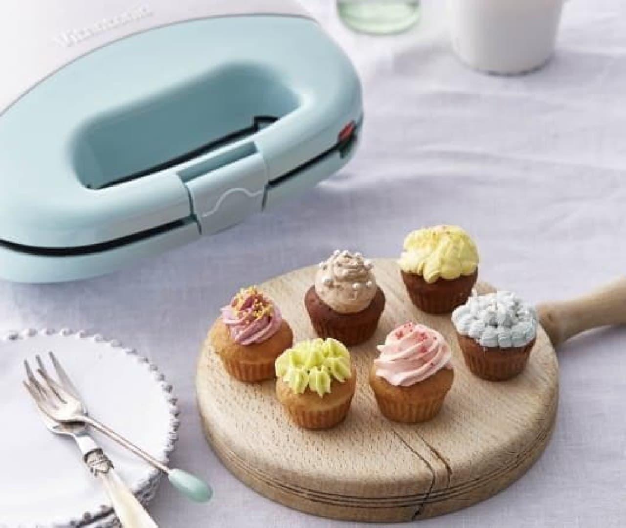 基本のプレートにカップケーキ型が付いた限定品