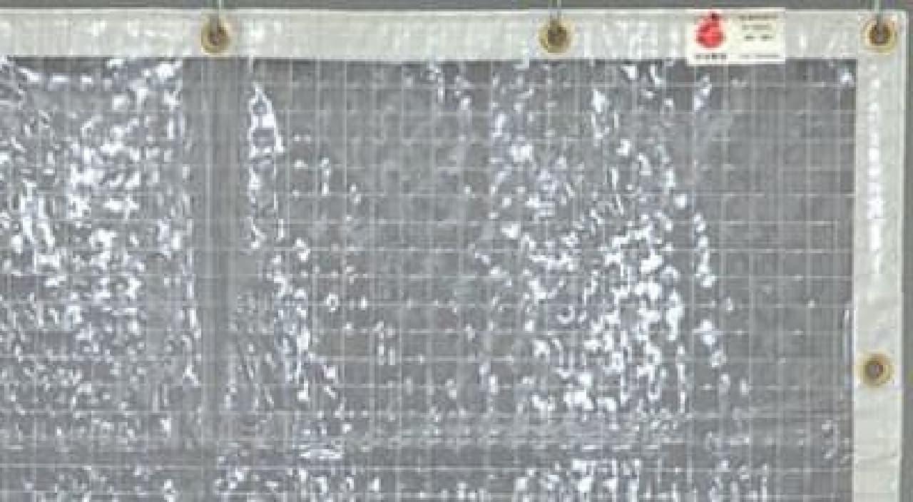 透明糸入りで防炎のFT06