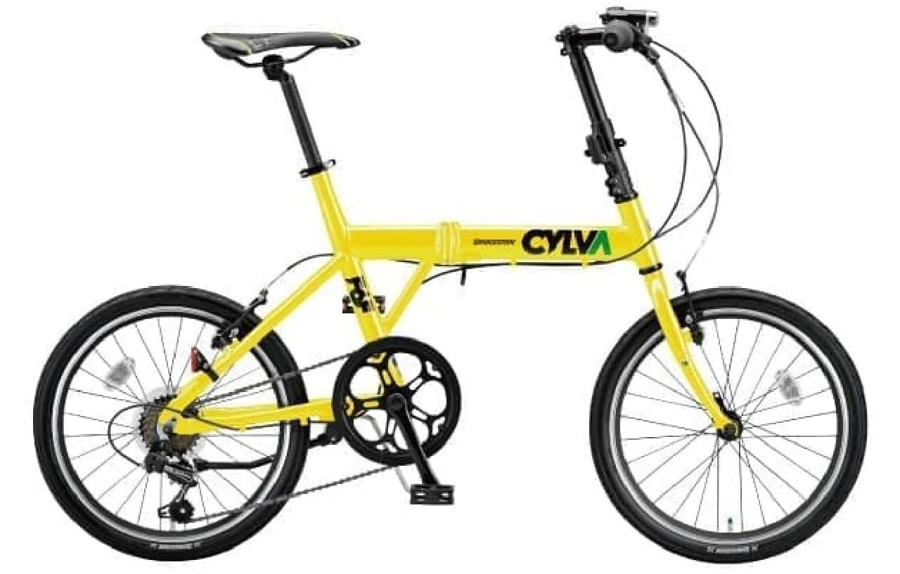 「グリーンレーベル」の折り畳み自転車「CYLVA(シルヴァ)F6F」販売開始