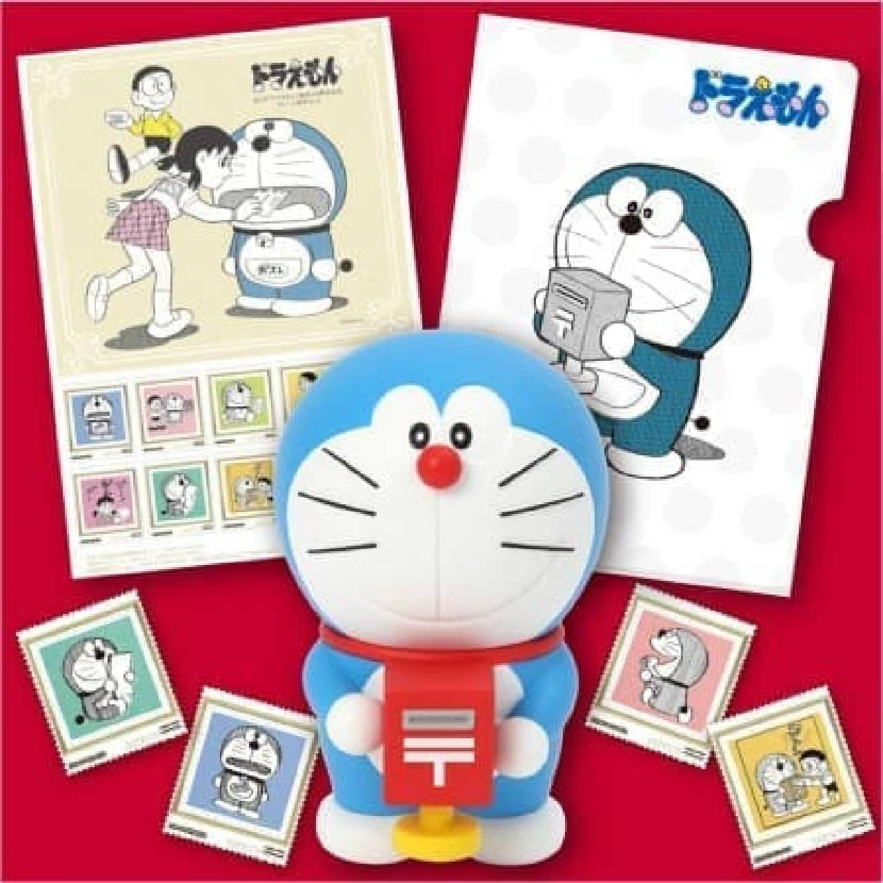 ドラえもん×郵便局の豪華セット  (c)藤子プロ
