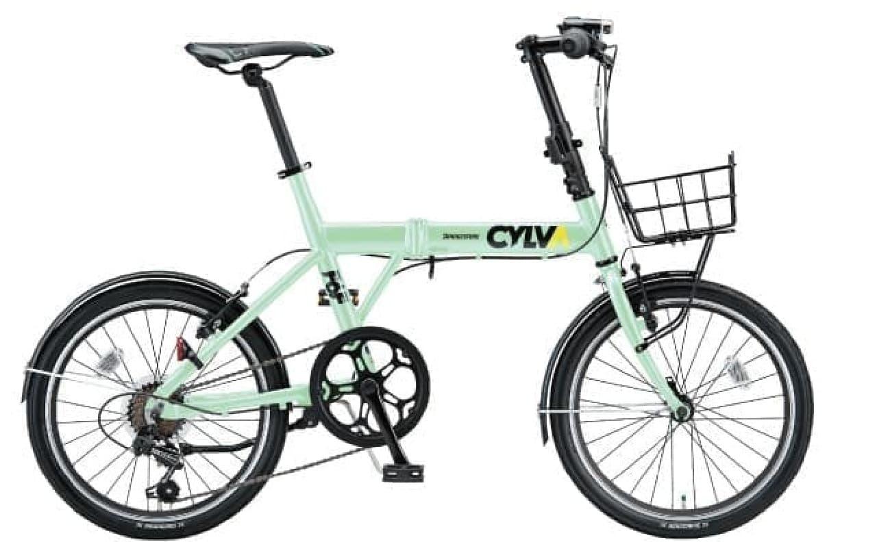オプション装着例  カラーは「E.Xミストグリーン」