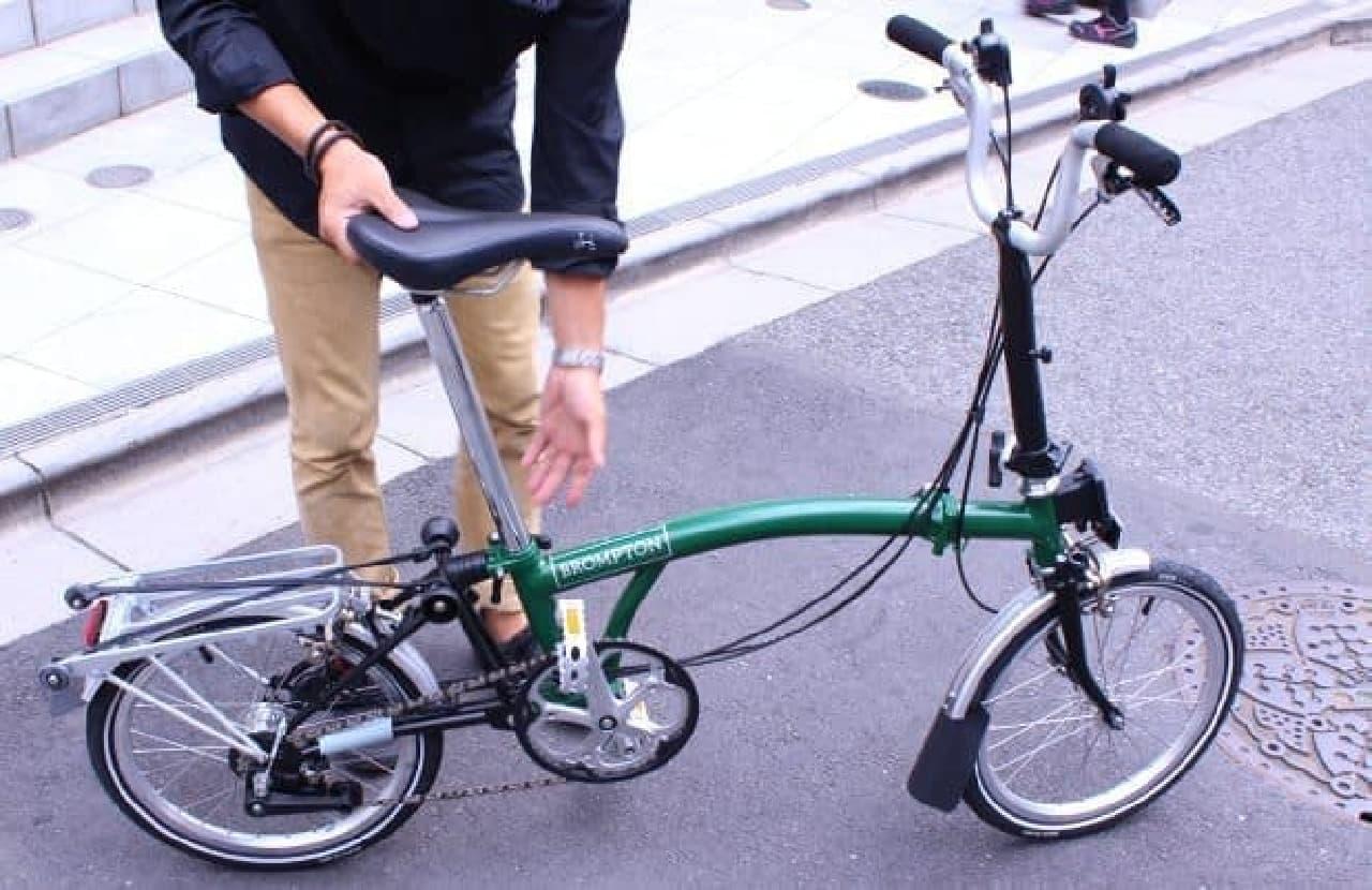 この自転車が