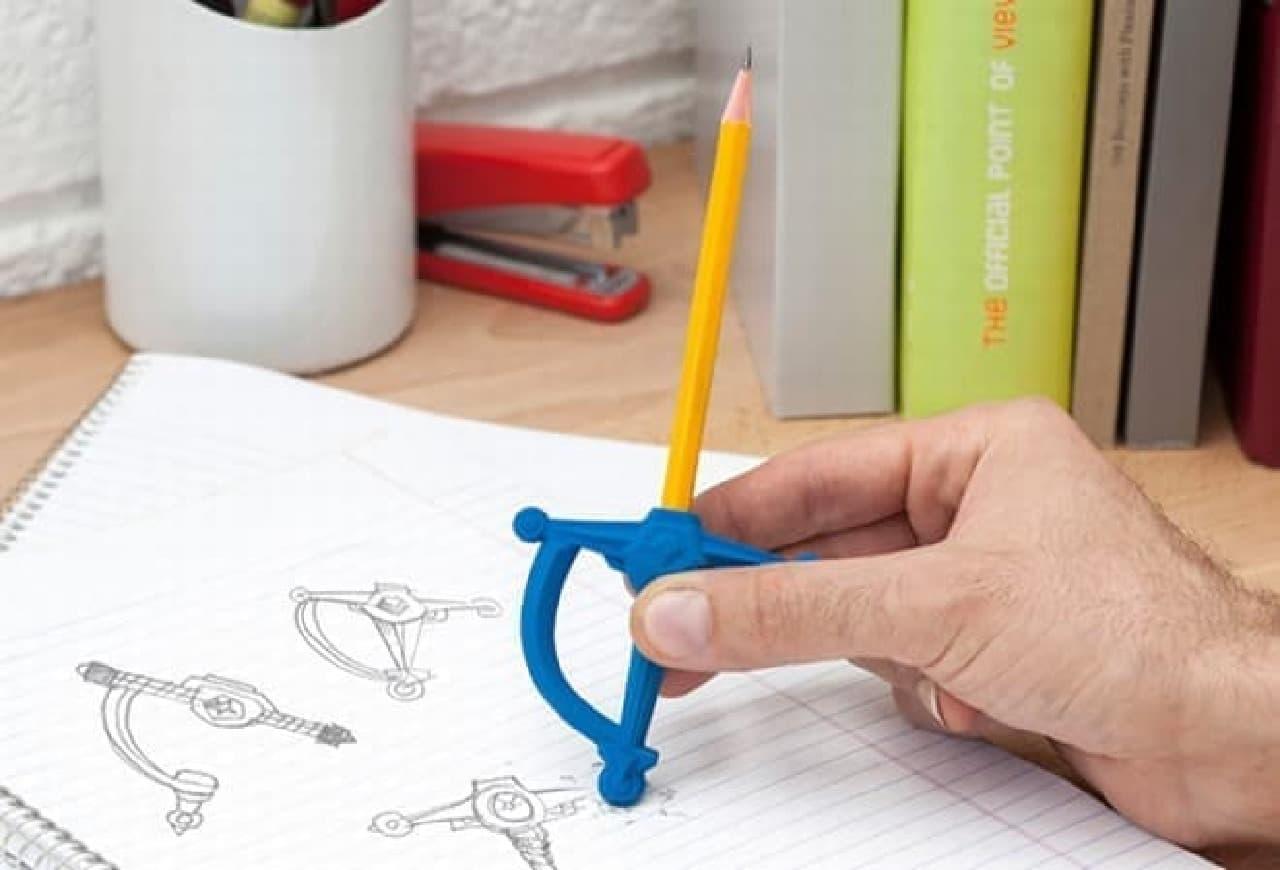 消しゴムは、少なくとも、鉛筆よりは強い