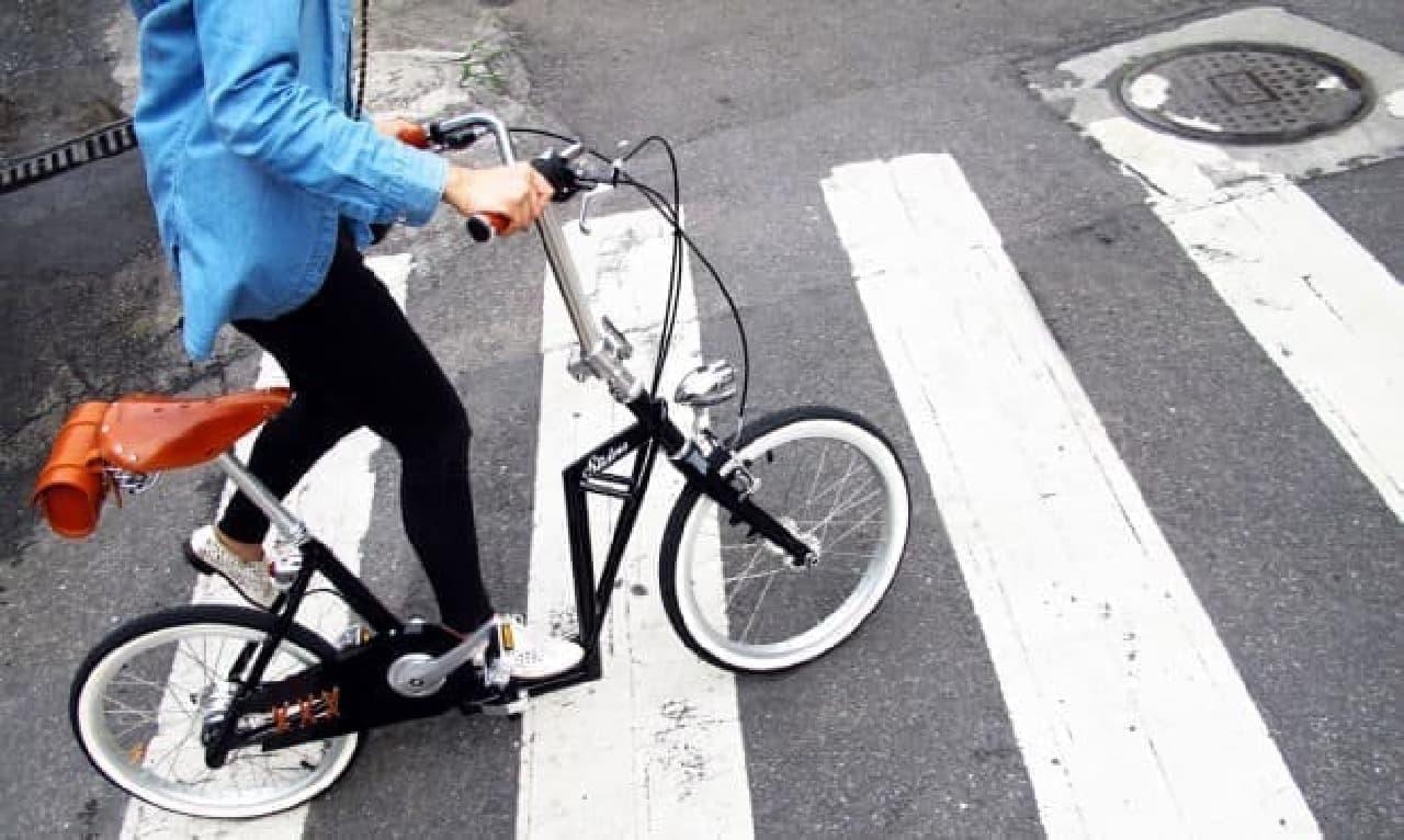 歩道を走行する際には、より安全?