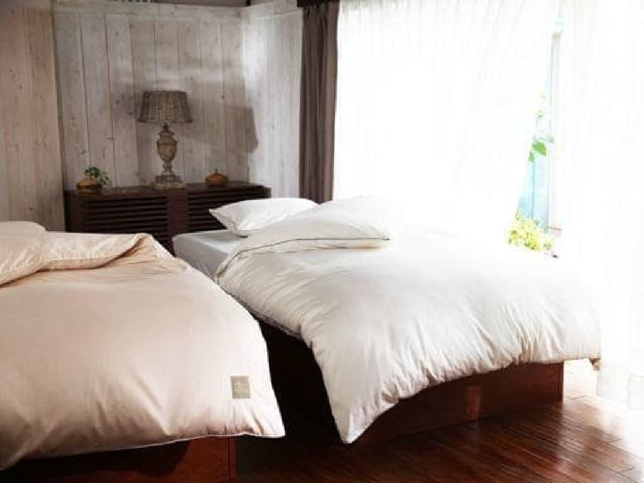 寝具には湿気がたっぷり