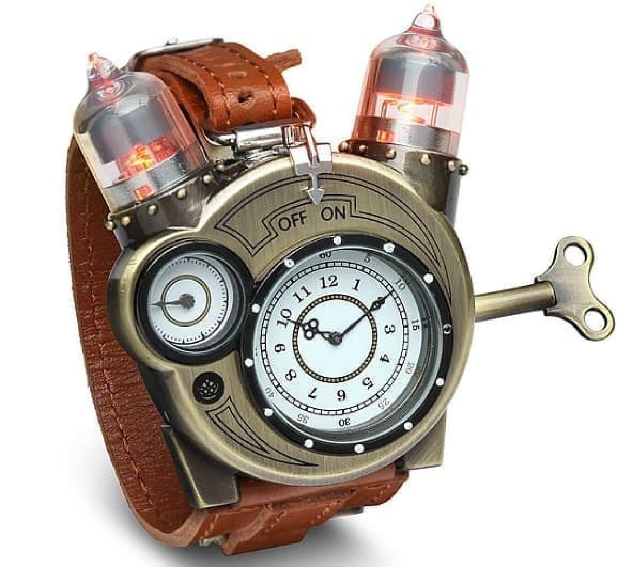 ニコラ・テスラ氏へのオマージュに溢れた腕時計「Tesla Watch(テスラウォッチ)」