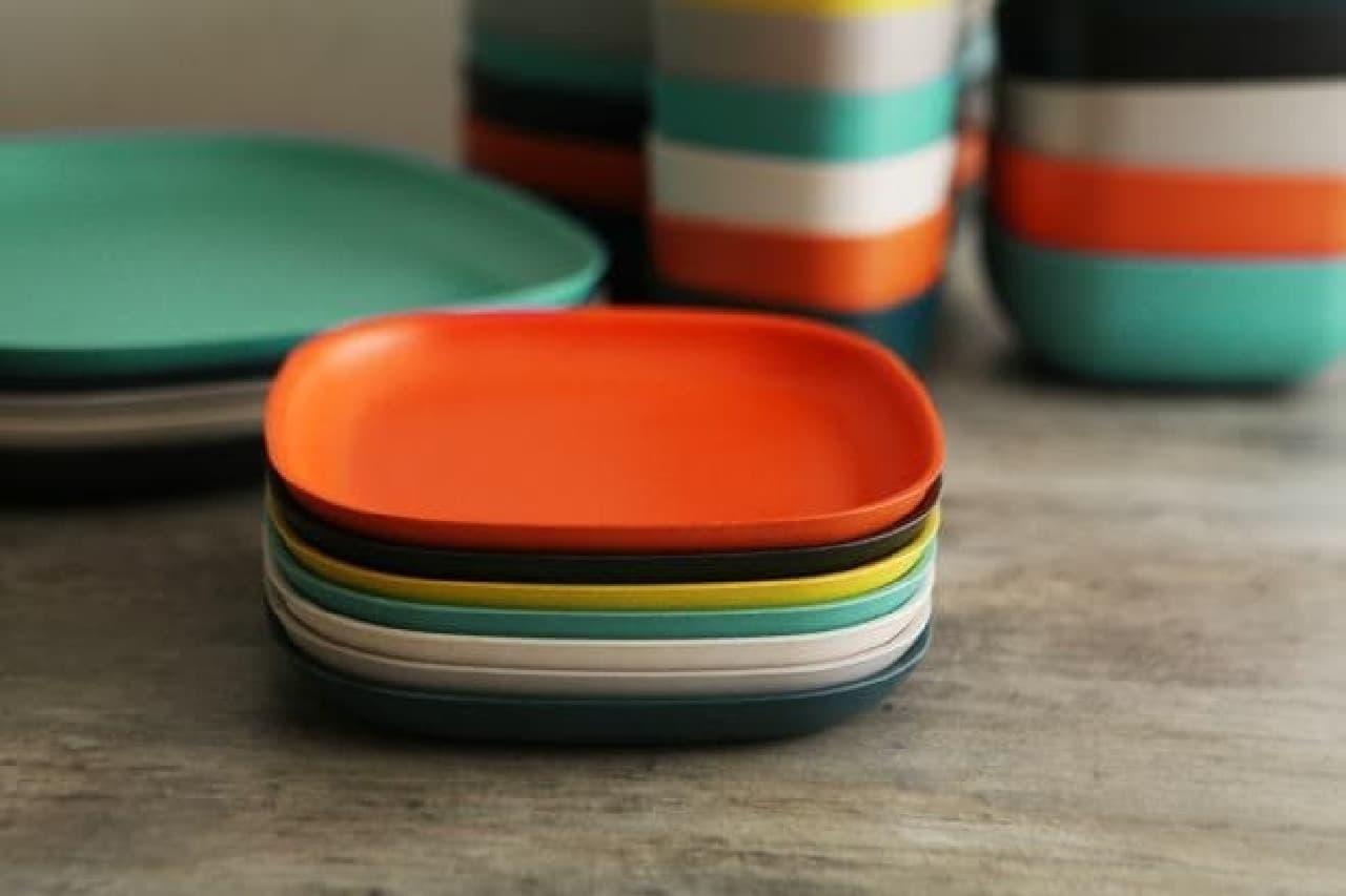 割れにくく丈夫な竹素材の食器「BIOBU by EKOBO」