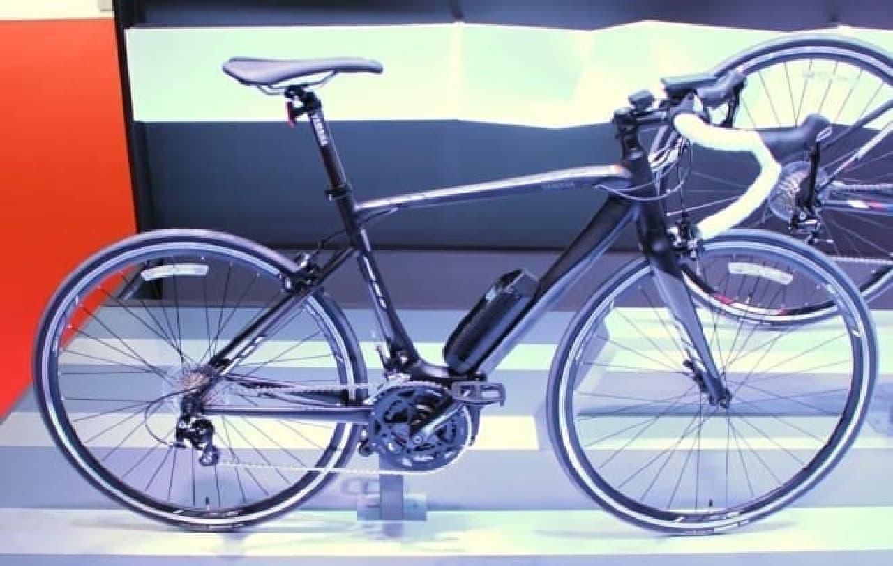 参考画像:今年12月に発売されるロードバイクモデル「YPJ-R」