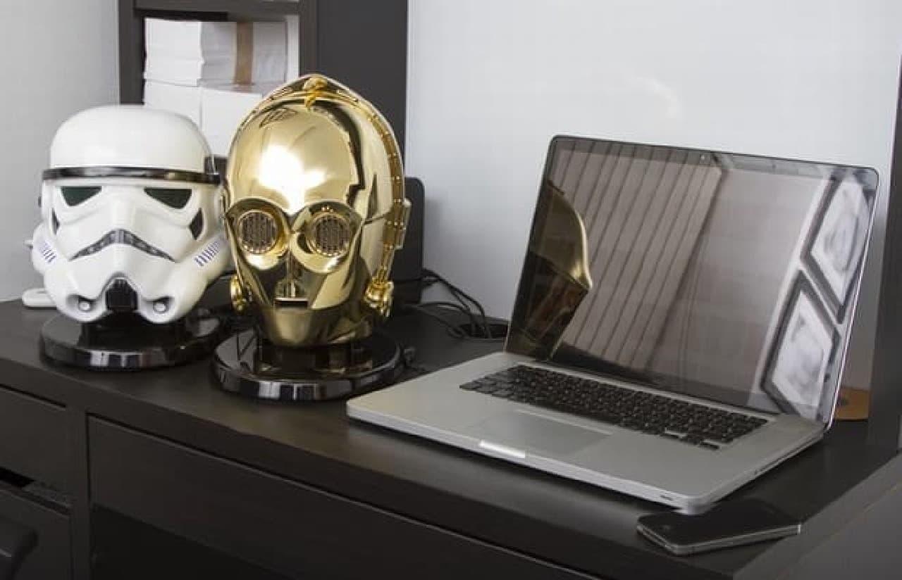 スター・ウォーズのキャラクターのスピーカー「Star Wars Bluetooth Speakers」