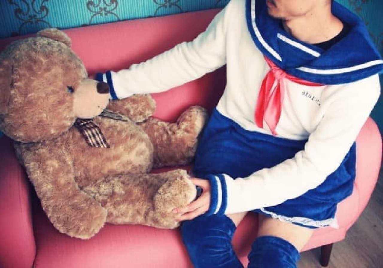 その女子力は、クマさんとお話しできてしまうレベル