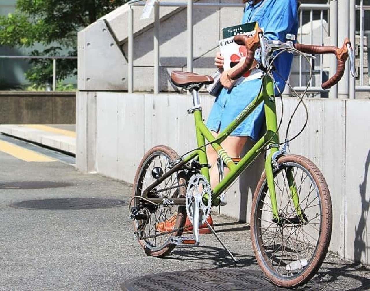 「Wiese(ヴィーゼ)」は、暮らしにちょっとしたレトロ感をプラスしてくれる自転車