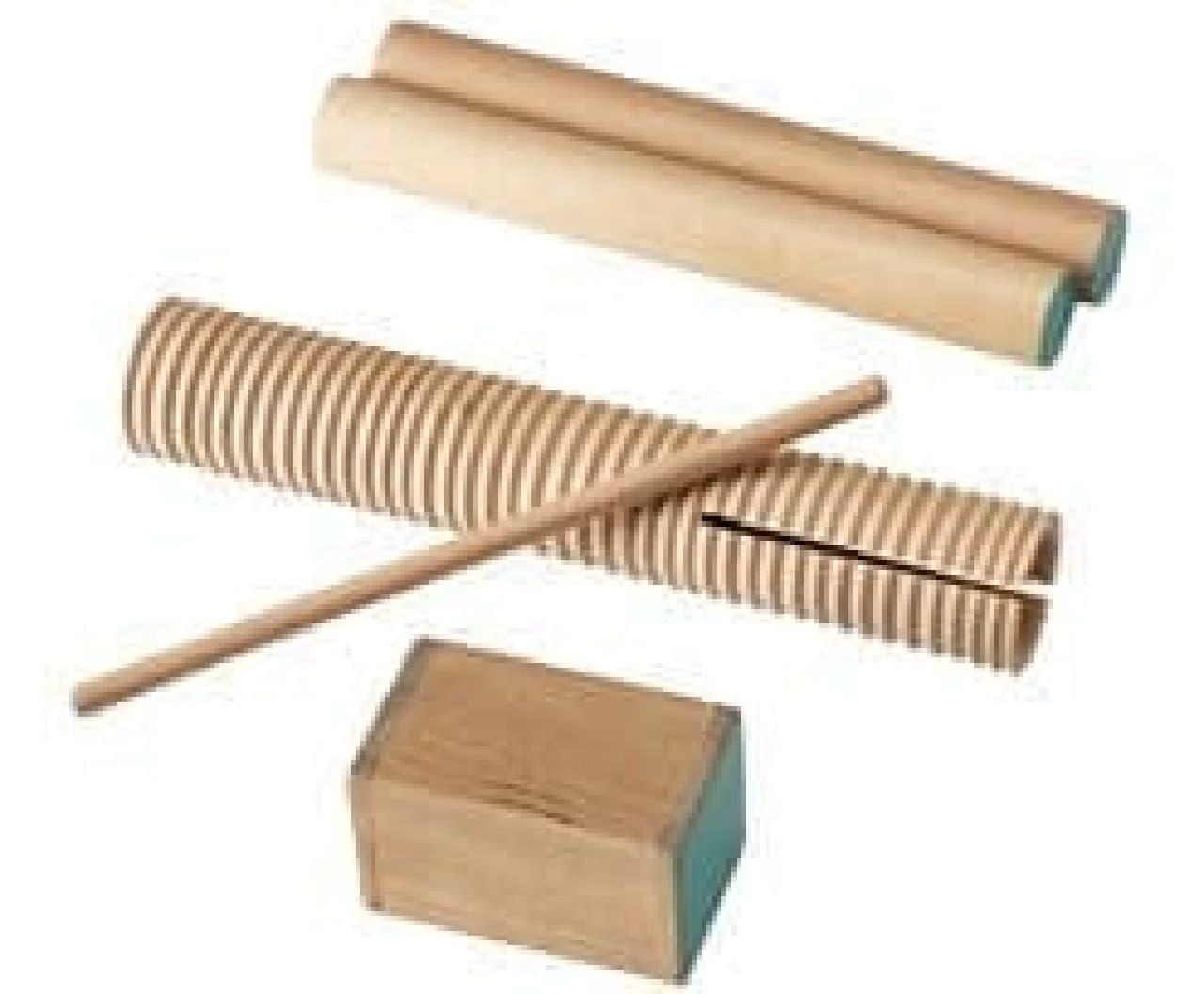 リズム楽器の例